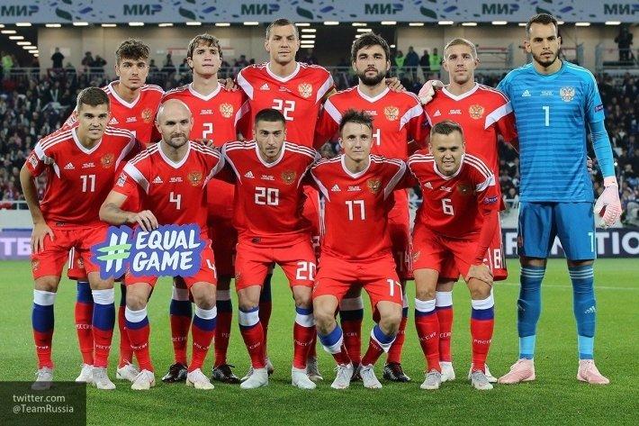 Сборная России сыграет в красной форме против команды Турции