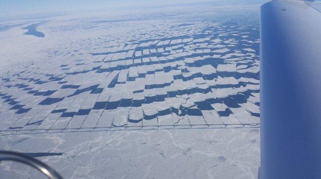 Мост Конфедерации в Канаде режет лед, словно масло красота, перфекционизм, симметрия