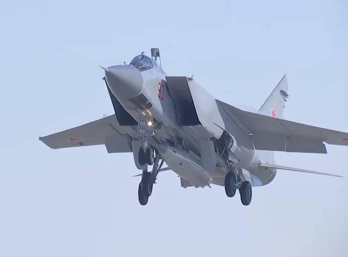МиГ-31: взгляд из Великобритании