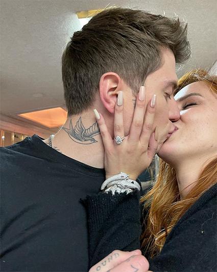 Белла Торн выходит замуж за  Бенджамина Масколо Звездные пары