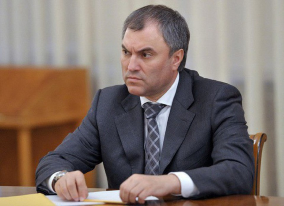Володин призвал депутата от …