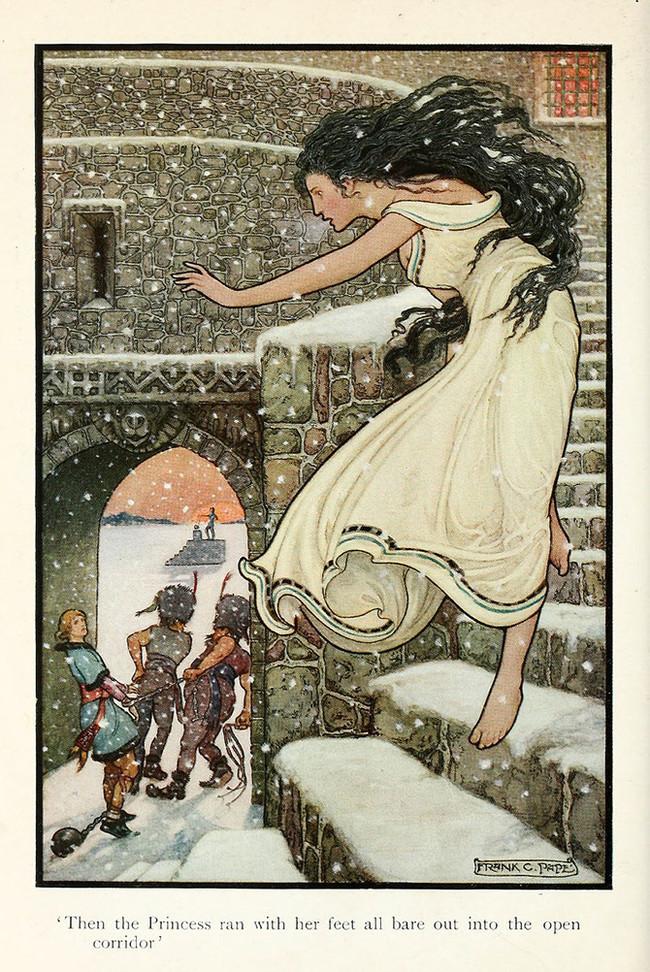 «РУССКАЯ КНИГА СКАЗОК», 1916 год. Иллюстрации английского художника ФРЭНКА ЧЕЙНИ ПЕЙПА (1878 - 1972)