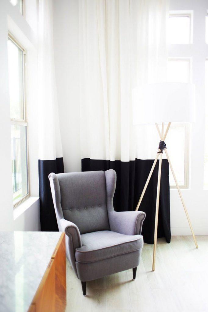 Если белые шторы надоели: креативные переделки