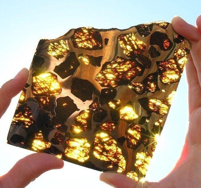6. «Часть метеорита, упавшего в Китае» в мире, вещи, кадр, красота, подборка, удивительно, фото