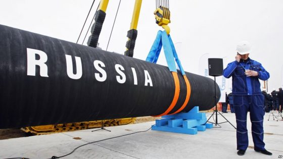 Германия разрешит строительство газопровода в обход Украины