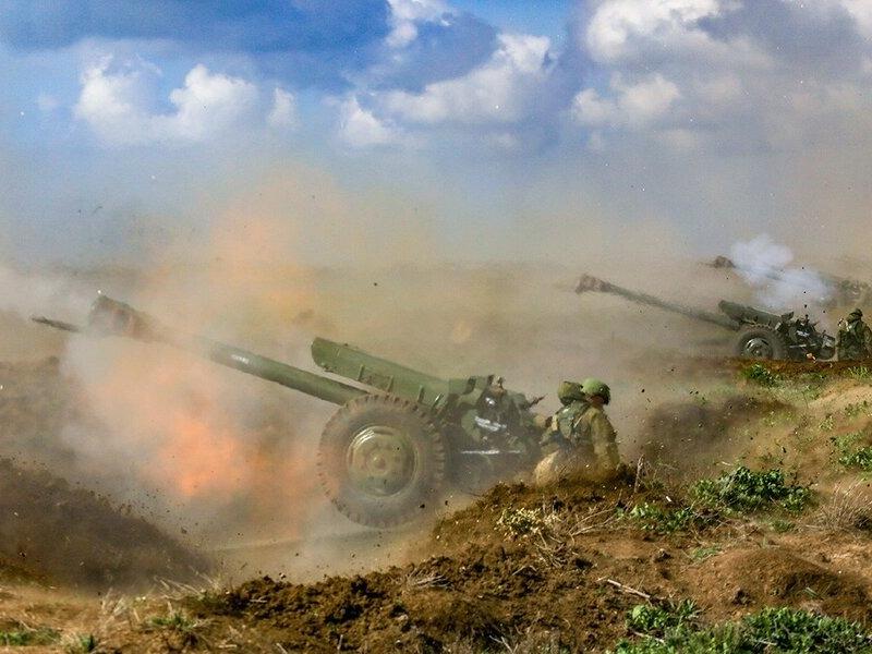 В Воронеже испугались, услышав в ночи звуки бомбежки. Оказалось, это лишь учения