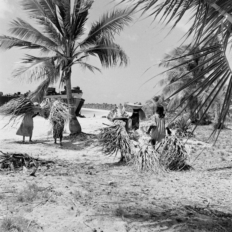 Новая «жизнь» атолл Бикини, племя бикинийцев, страницы истории, сша