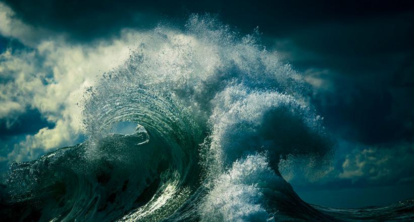Незабываемые фото океана от Рэя Коллинза