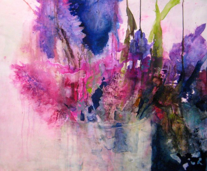 Акварельные цветы Elke Memmler