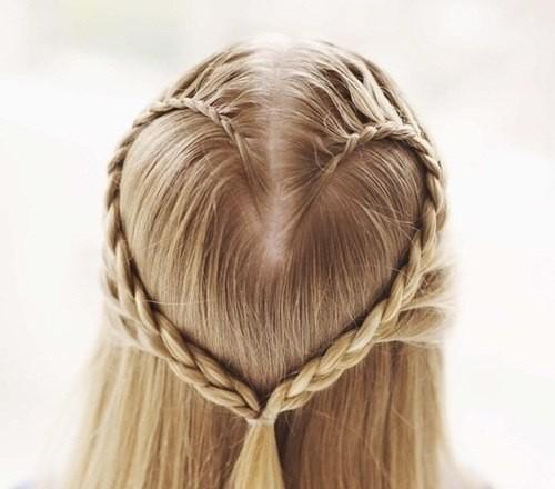 """Как сделать причёску """"Сердечко"""""""