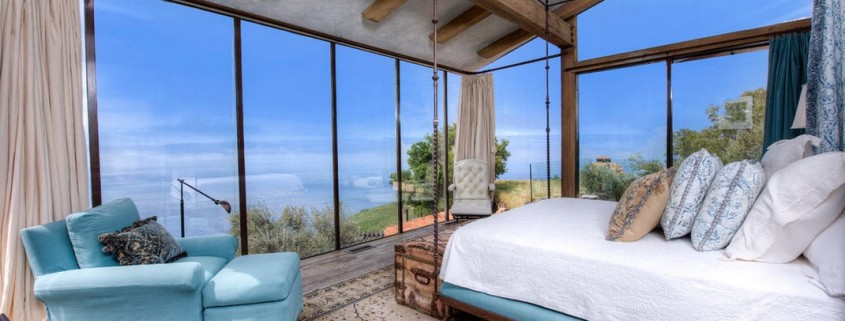 Средиземноморский стиль в интерьере спальни