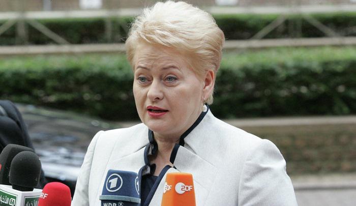 Такого не ожидали даже в ЕС: Грибаускайте нашла способ выбить деньги из «Газпрома»