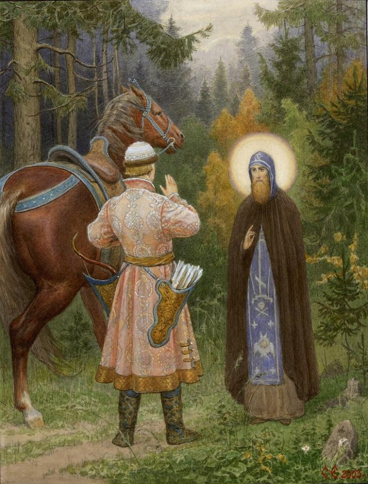 Зашла, картинки на тему чудо об источнике преподобного сергия радонежского