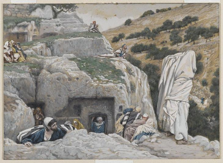 James Tissot. The_Apostles'_Hiding_Place
