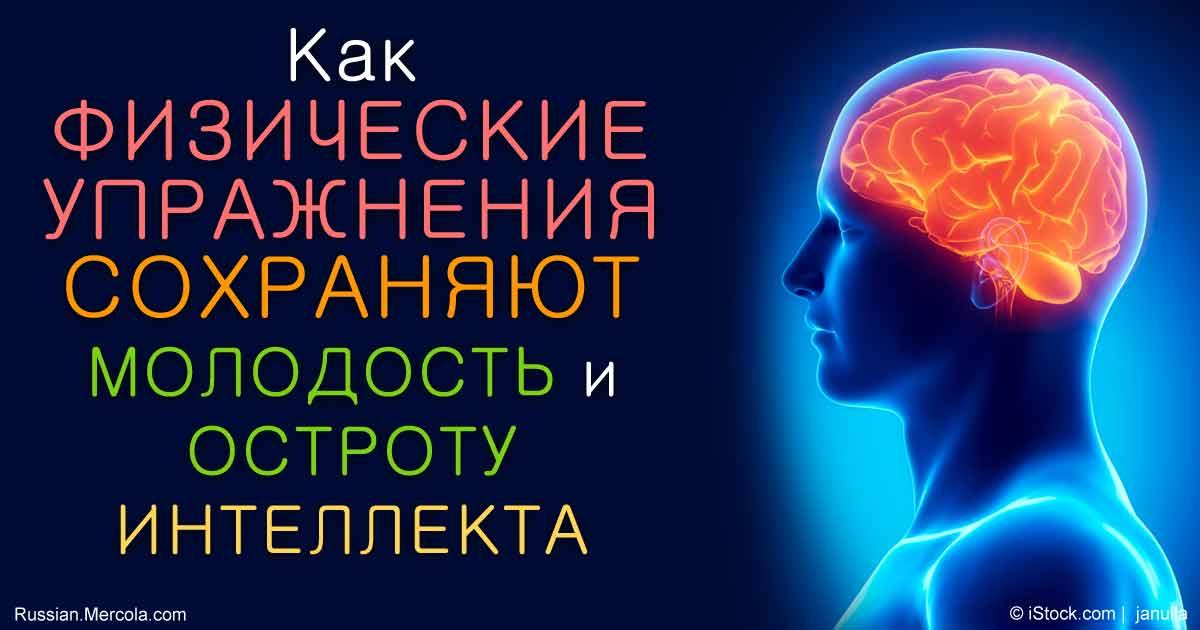 Упражнения, которые заставят мозг работать на полную мощность