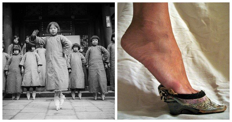 Страшная тайна «золотых лотосов»: сексуальный фетиш бинтования ног в Поднебесной