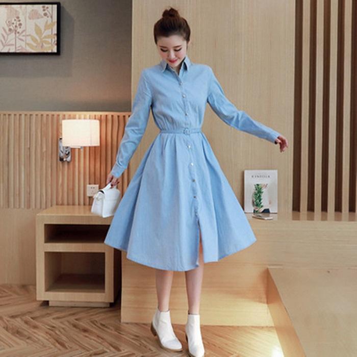 Расклешенная юбка придаст необходимый объем бедрам
