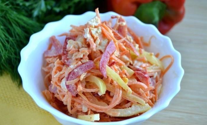 Очень вкусный салат.  Фото: bdi.spb.ru.