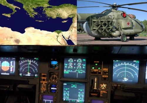 Российские комплексы РЭБ в Сирии остановили навигацию в Средиземном море.