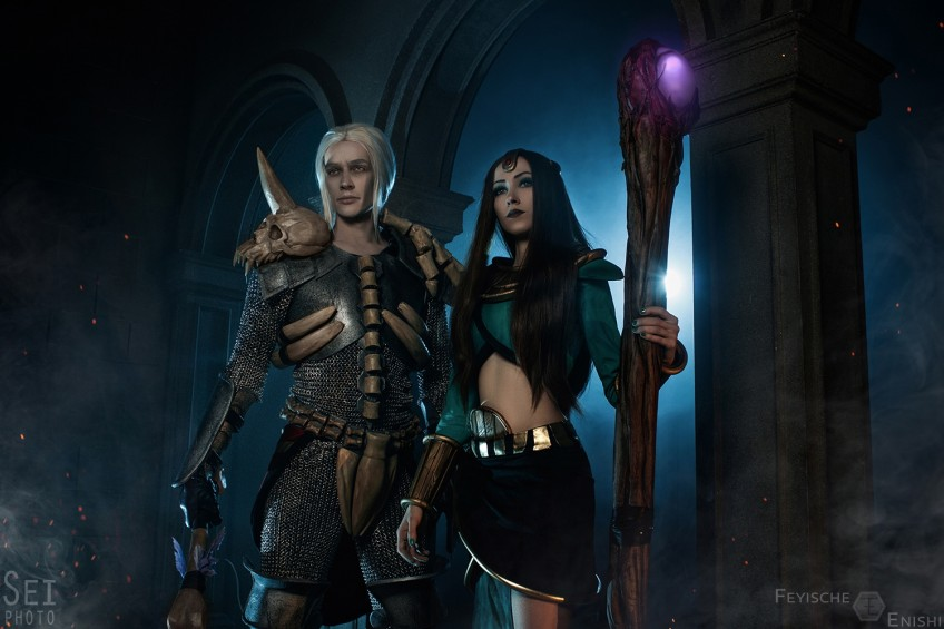 Пятничный коспей: The Witcher, Diablo II, Dark Souls III