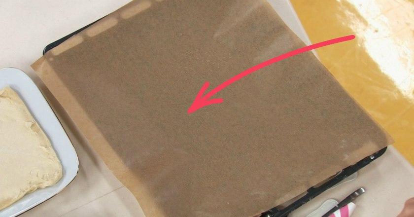 Так пергаментную бумагу ты е…
