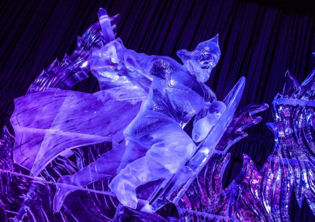 Ледовый фестиваль в Петербурге