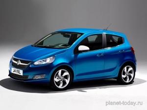 Появилось первое фото бюджетного хэтчбека Opel