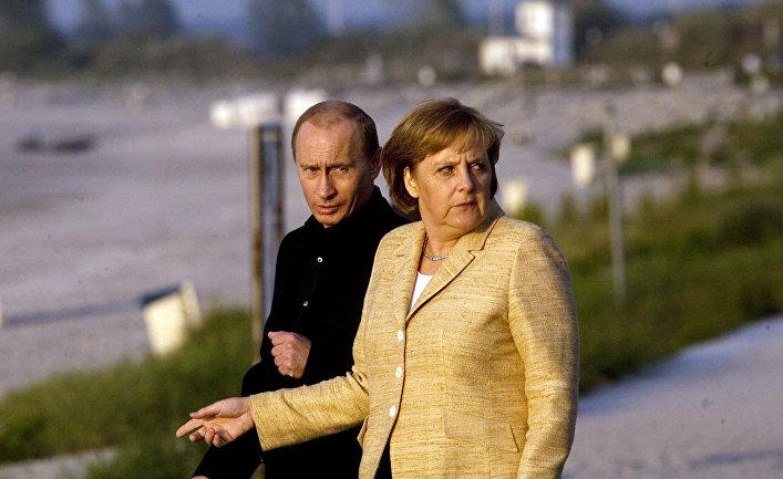 Меркель ищет Путина