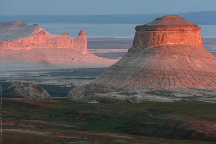 Почти марсианский пейзаж. / Фото: Юля Назаренко.