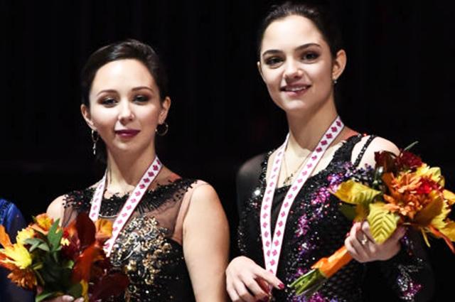 Елизавета Туктамышева и Евгения Медведева завоевали золотую и бронзовую медали на Гран-при по фигурному катанию в Канаде