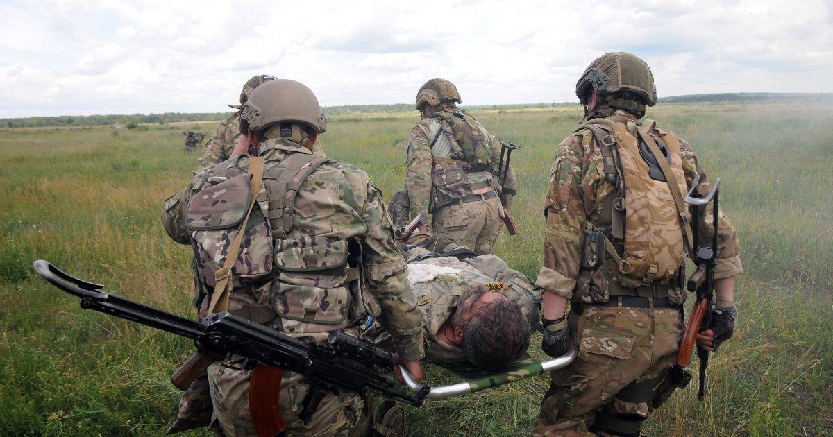 Украинские военные заявили о «мощных боях» в Приазовье