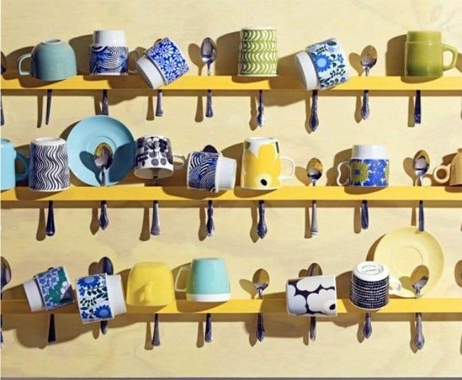 Как хранить кружки и чашки