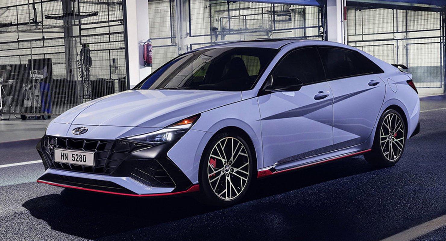 Самая мощная модель Hyundai Elantra N за 5.3 секунды разгоняется до 100 км/ч Автомобили
