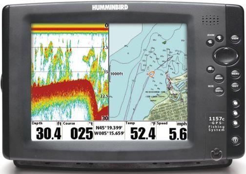 Рыбалка с комбинированным GPS навигатором
