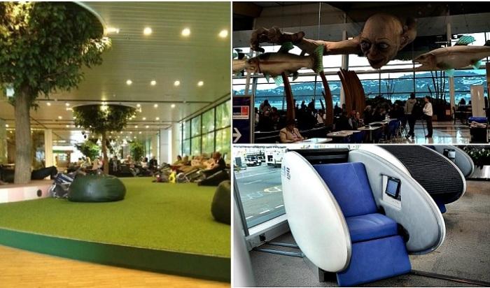 «Фишки» аэропортов, которые сделают ожидание комфортным