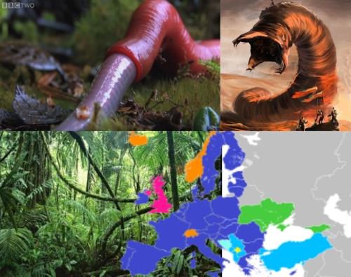 Огромные черви-хищники пожирают Францию и страны ЕС