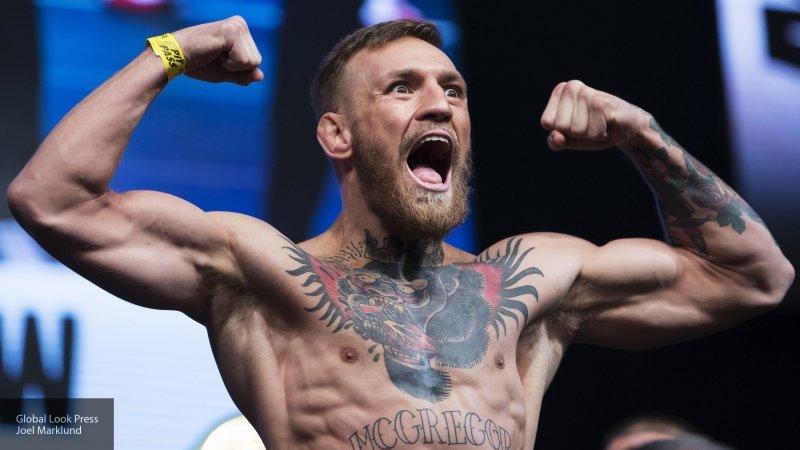 Опубликовано видео победного нокаута Макгрегора на турнире UFC 246