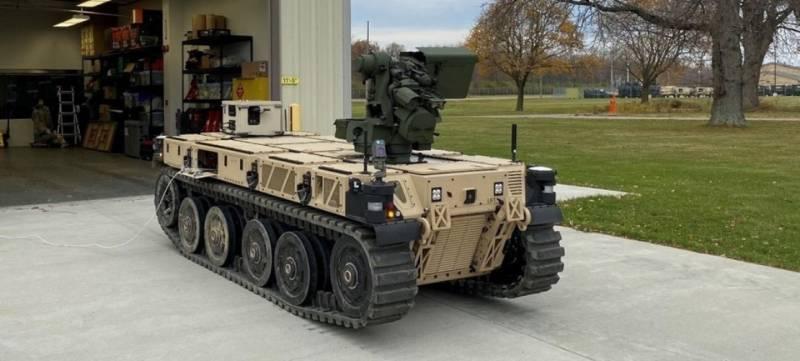 Расходный материал. Американские роботы для самой гущи боя оружие