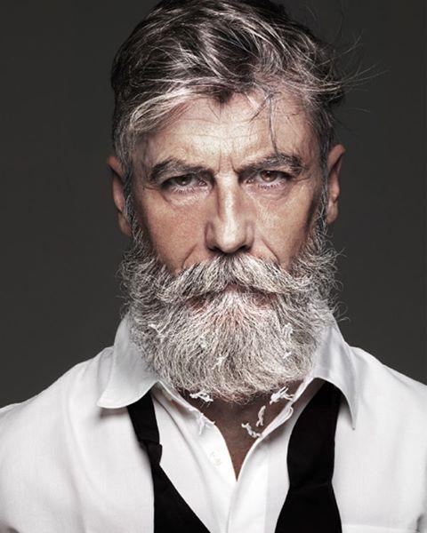 Пенсионер-хипстер стал моделью в 60 лет