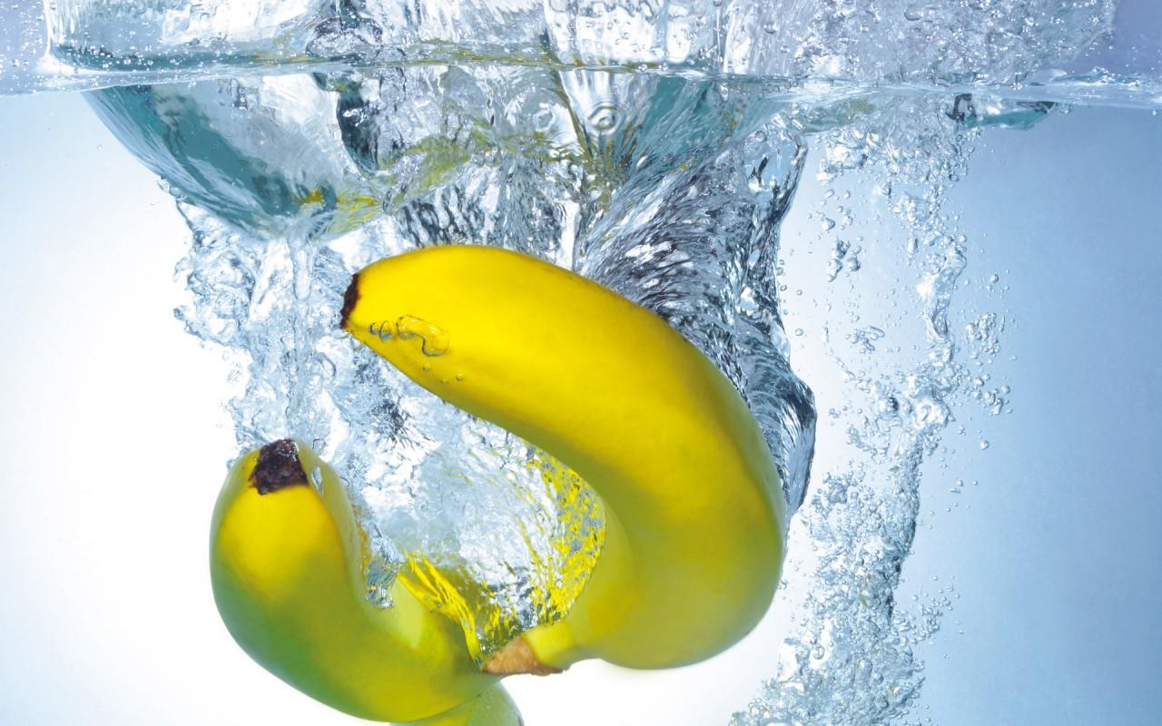 Банановая вода от пигментных пятен