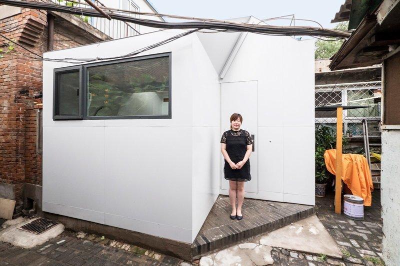 В Китае разработан дом, который собирается гаечным ключом за сутки