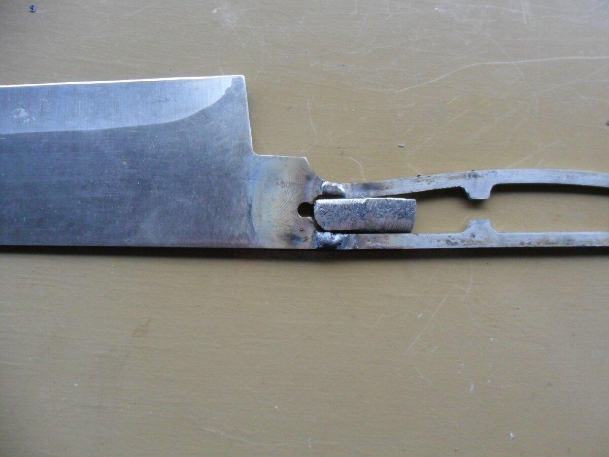 Как я отремонтировал сломанный нож.. новая жизнь старых вещей,нож