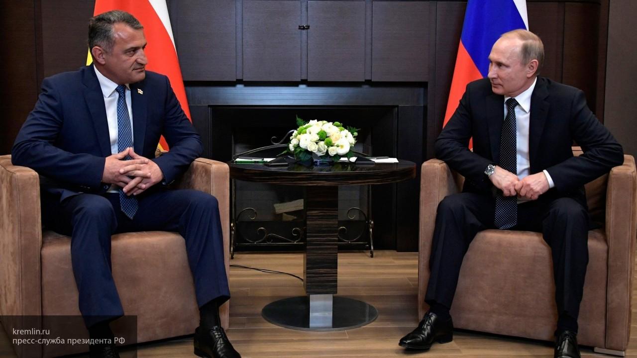 «Стимул жизни и цель»: Бибилов о вхождении Южной Осетии в состав России
