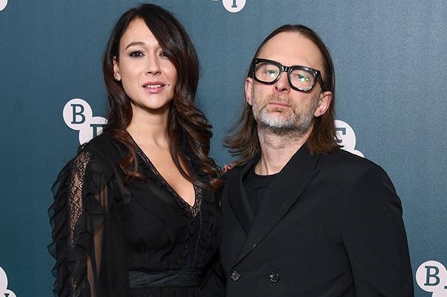 Лидер группы Radiohead Том Йорк женился на актрисе Даяне Рончионе Звездные пары