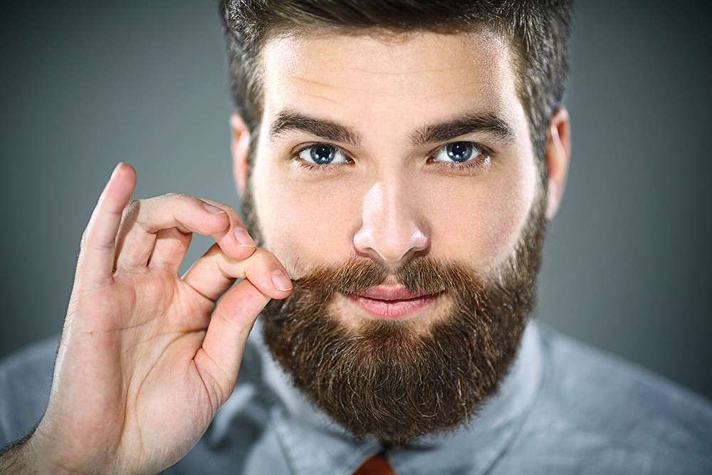 Картинка фото мужчина с бородой, милому парню