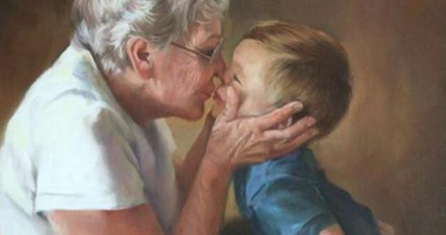 Бабушки и дедушки никогда не умирают, они просто становятся невидимыми...