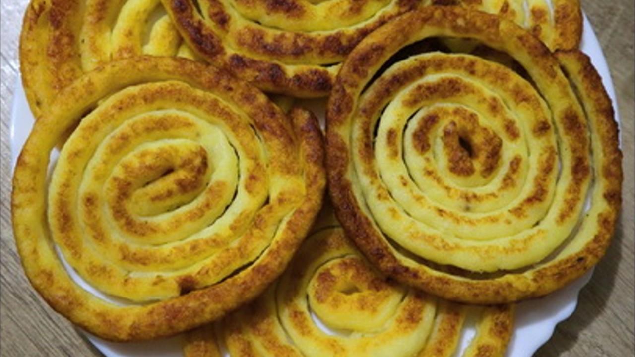 Картофельные спиральки. Вкус…