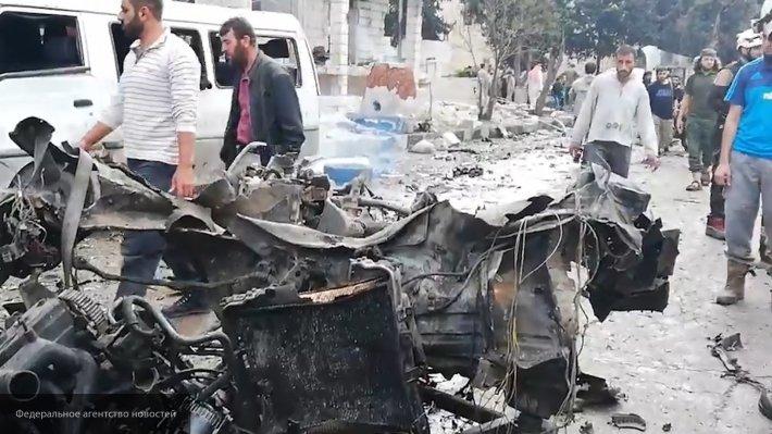 Массовый террор в Идлибе: неизвестные атакуют базу радикалов