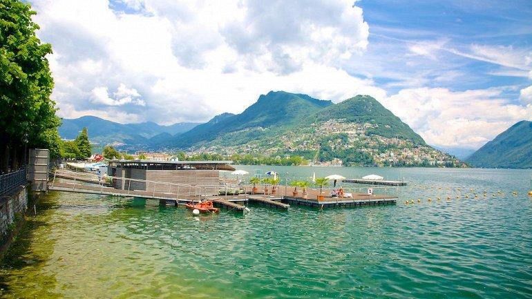 Поехать в отпуск в Швейцарию Озеро Лугано заграница,отдых,отпуск,туризм