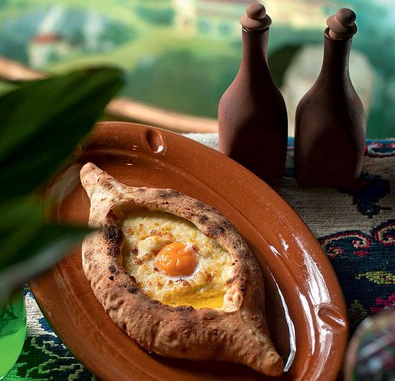Аджарский хачапури